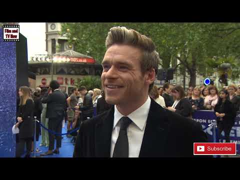 Richard Madden Is All Smiles At The Rocketman UK Premiere