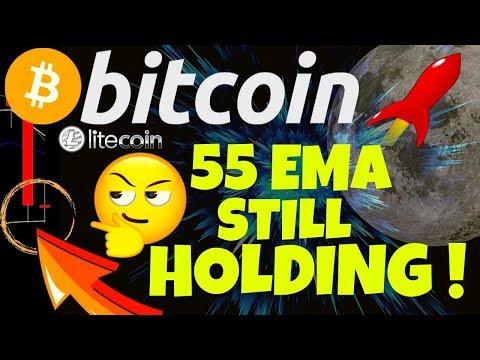 🔥 BITCOIN 55 EMA STILL HOLDING ! 🔥bitcoin litecoin price prediction, analysis, news, trading