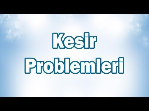 Kesir Problemleri 6. Sınıf Matematik   CANLI