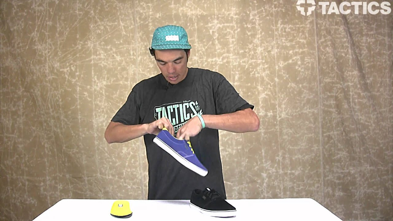 DVS Daewon 13 CT Skate Shoes Review - Tactics.com - YouTube 14bd3dfd3