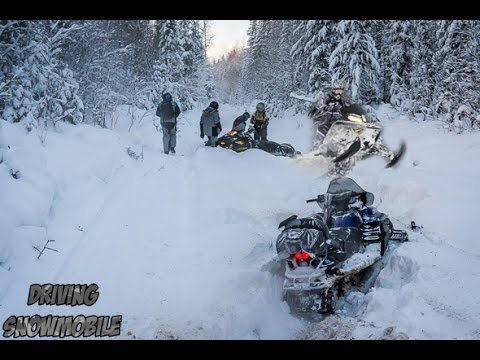 LYNX RANGER 900 ACE | Snowmobile riding LYNX RANGER 900 ACE