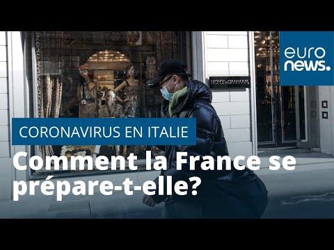 Coronavirus: comment la France se prépare-t-elle après la hausse du nombre de cas en Italie ?