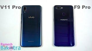 Vivo V11 Pro vs Oppo F9 Pro Speedtest and Camera Comparison