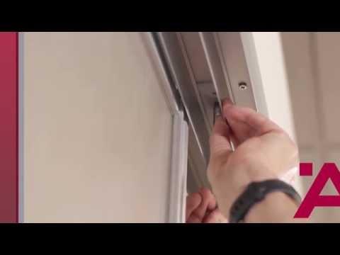 Aluflex Sliding Door Installation Guide (6 of 7): Center Door Stopper Installation