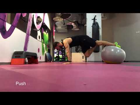 Best 10 core/abs exercises with Swiss ball