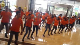 """Kala Chashma"" Shangrila Hotel, Bangalore 1st year Anniversary FLASH MOB"
