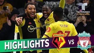 Watford vs. Liverpool: 3-0 Goals & Highlights | Premier League | Telemundo Deportes