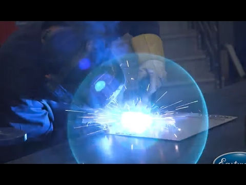 How To Spot Weld & Plug Weld  MIG Welding with the mp200i  Eastwood