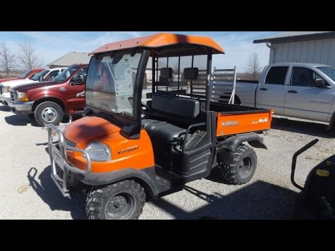 Kubota RTV900 with 518 Hours Sold on Northeast Kansas Farm Auction Saturday