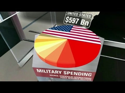 Trump advocates for increased military spending