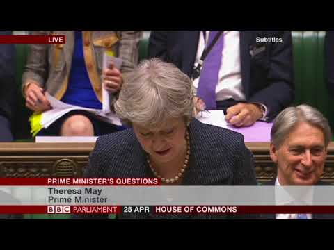 Homeopathy discussed by the UK Prime Minister Theresa May