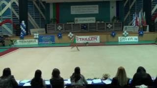 Ana Maria Plosca,gimnastica ritmica,cupa Burgas 2009 Bulgaria,exercitiul fara obiect