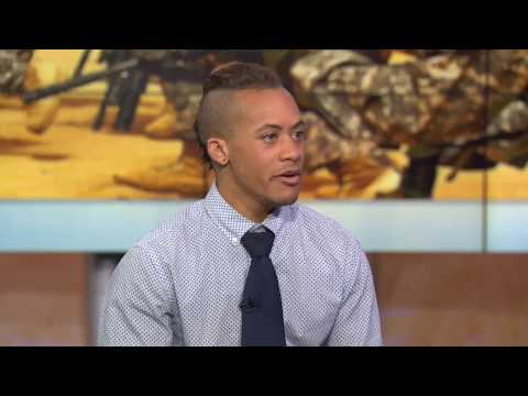 Transgender veteran Shane Ortega discusses Trump's military ban