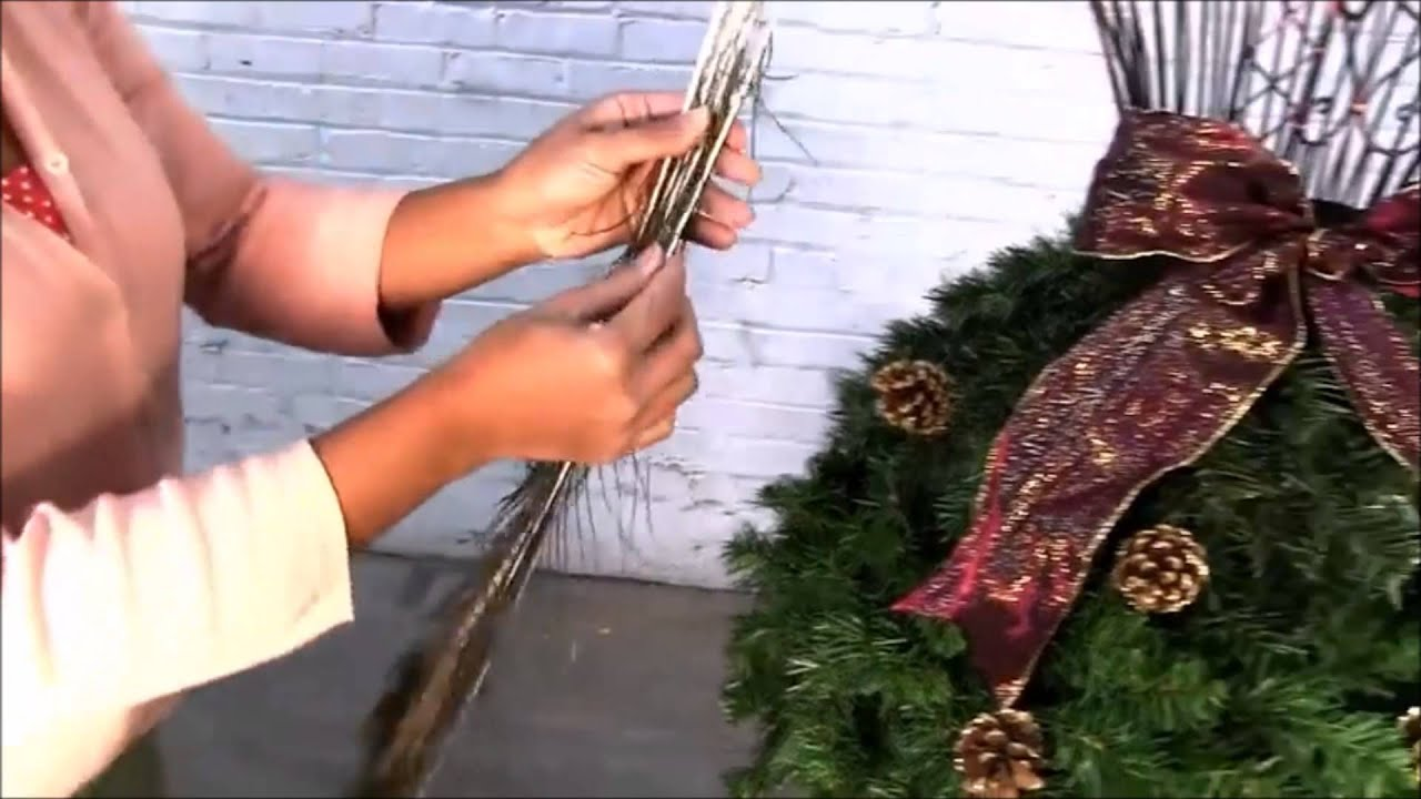 How To Make A Dress Form Christmas Tree Youtube