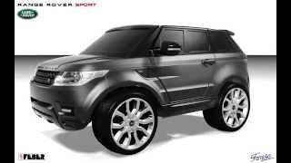 Детский электромобиль Range Rover Sport(Теперь Маленькие водители могут пользоваться своим собственным Range Rover - одним из самых популярных в мире..., 2015-05-02T12:58:31.000Z)