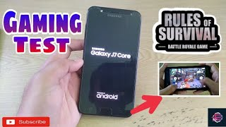 Samsung Galaxy J7 Core 2018 Review & Gaming test: Rules Of Survival