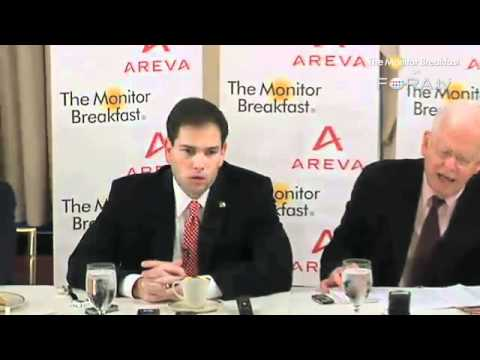 "Marco Rubio on Romney ""Self-Deportation"" Immigration Stance"