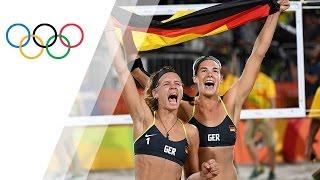 German pair wins Women's Beach Volleyball gold