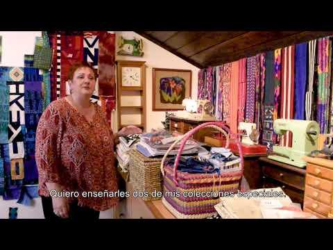 Priscilla Bianchi, Guatemalan Textile Artist: Welcome to my Studio