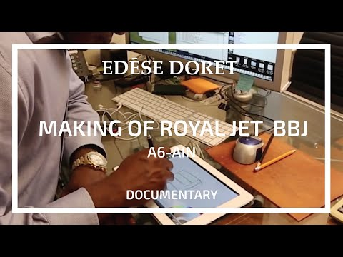 From Concept to Completion 'The making of Royal Jet Boeing BBJ A6-AIN' designed by Edese Doret