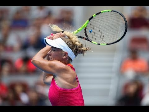 2017 China Open First Round | Caroline Wozniacki vs. Wang Qiang | WTA Highlights