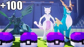 TODOS LOS LEGENDARIOS JUNTOS EN LUCKY BLOCK MASTER BALL 😱 | PIXELMON LUCKY BLOCKS MINECRAFT POKEMON