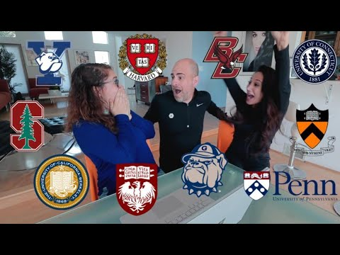 College Decision Reactions (Yale, Harvard, Georgetown, UPenn, UChicago, Princeton, etc.) 2019