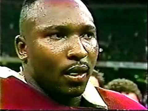 Keith McCants Interview By Lynn Swann After the 1990 Sugar Bowl