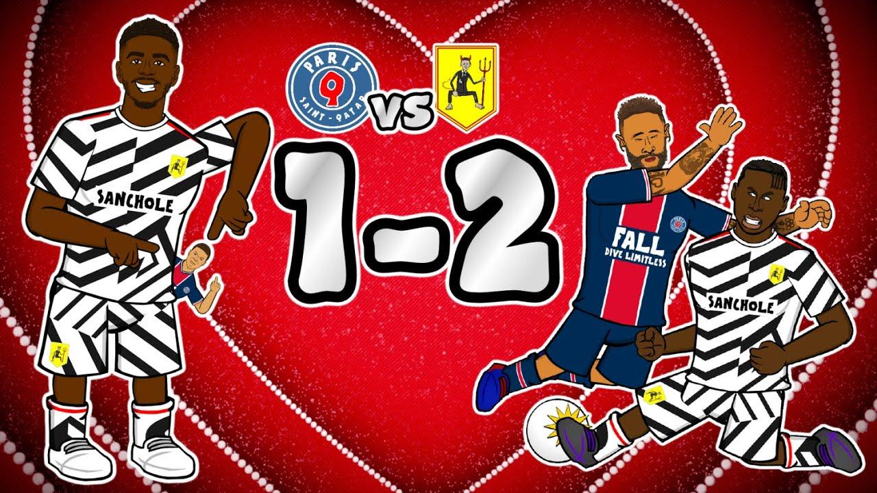 💥MAN UTD vs PSG 1-2💥 Neymar & Mbappe pocketed! (Champions League Highlights Goals 2020)