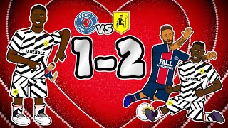 💥MAN UTD vs PSG 1-2💥 Neymar & Mbappe pocketed! (Champions League Highlights Goals 2020)