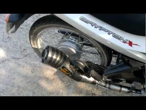 Yamaha crypton X exhaust GL racing