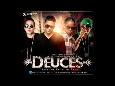 De La Ghetto Ft Ñengo Flow, JeyCi 'La Excelencia' & Juhn 'El All star' - Deuces ( Spanish Remix)