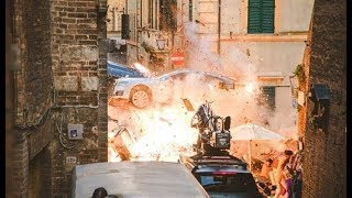 6 Underground,2019,Ryan Reynolds,Michael Bay-- HUGE EXPLOSION filming