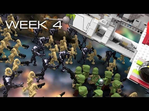 Building Kashyyyk in LEGO - Week 4: Mapping