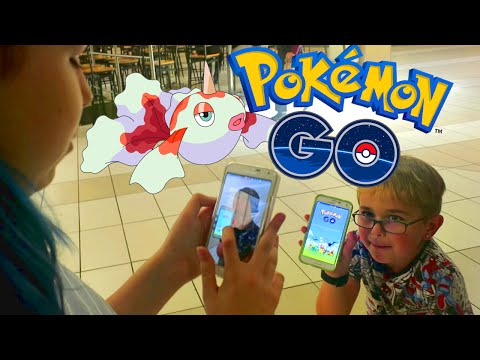 LET'S PLAY POKEMON GO | TEAM MYSTIC | RADIOJH AUDREY