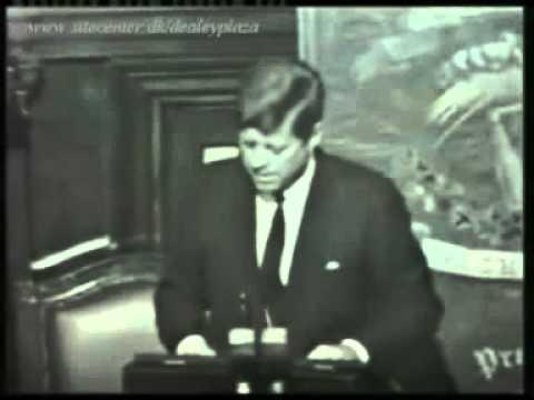 Brilliant JFK Speech in Ireland