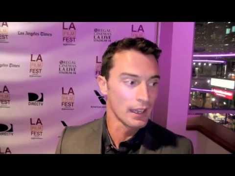 YOU'RE NEXT actor Nicholas Tucci (LAFF 2013)