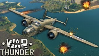 My Friends & I got into a Huge Battle with Planes, Tanks and Ships! - War Thunder Multiplayer