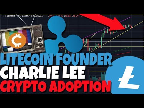 Litecoin MAJOR Move Is Imminent! - Charlie Lee Explains What Will Drive Crypto Adoption (XRP)