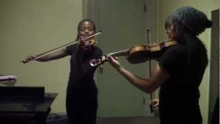 The Beatles - Blackbird (Violin duet): HAPPY BIRTHDAY, HOLLY