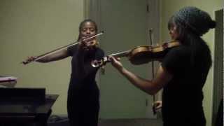 The Beatles - Blackbird (Violin duet): HAPPY BIRTHDAY, HOLLY