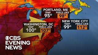 Extreme heat warnings posted across central U.S.
