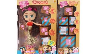 Boxy Girls Hannah Doll and Fashion Pack Season 2 Unboxing Toy Review