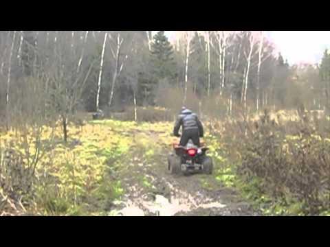 TEST-DRIVE  квадроцикла GODZILLA Z2-S
