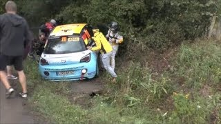 WRC Rallye Deutschland 2018 (HD) - CRASH, MISTAKES By Rallye-Mann