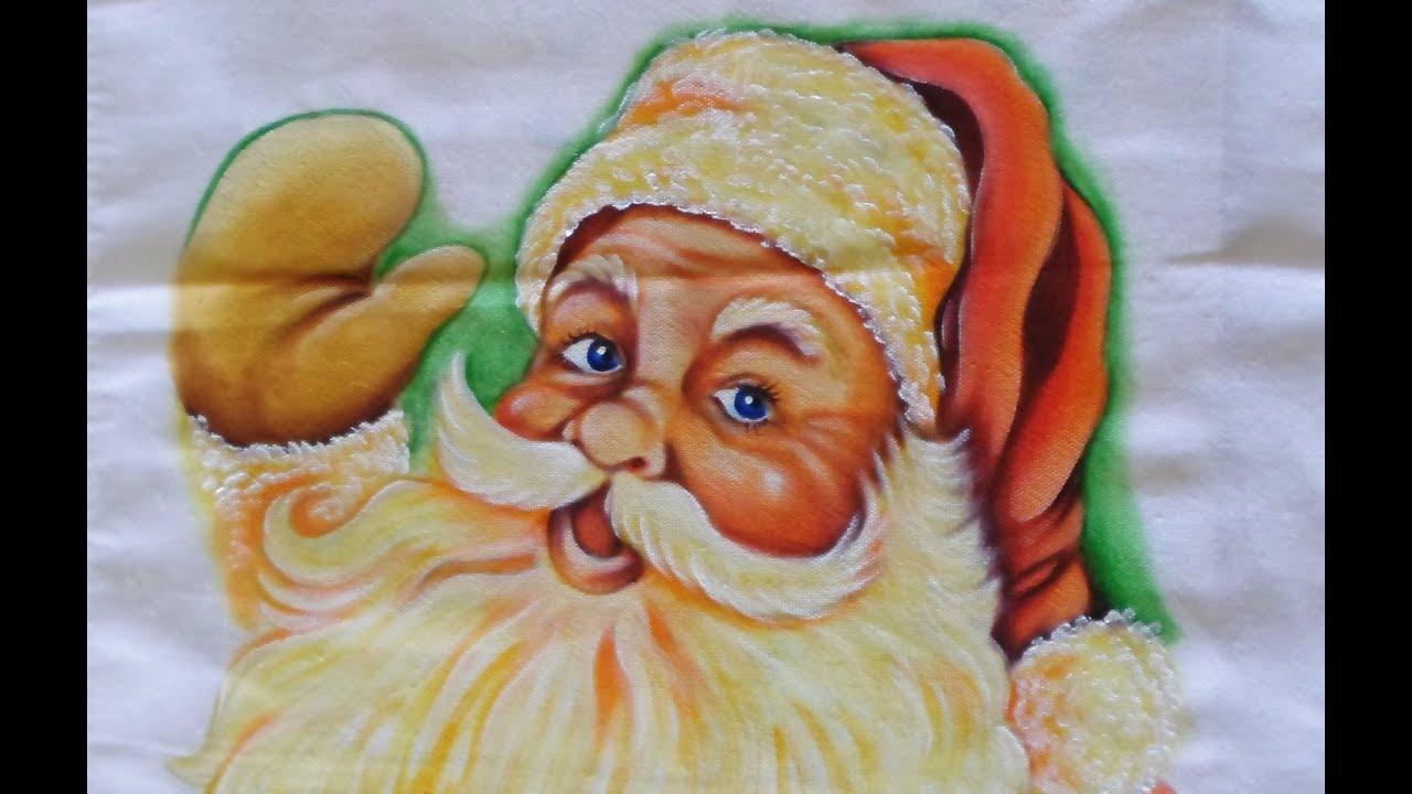 Fotos de papai noel para pintar em tecido 22