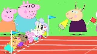 Peppa Wutz | Sporttag  | Peppa Pig Deutsch Neue Folgen | Cartoons für Kinder