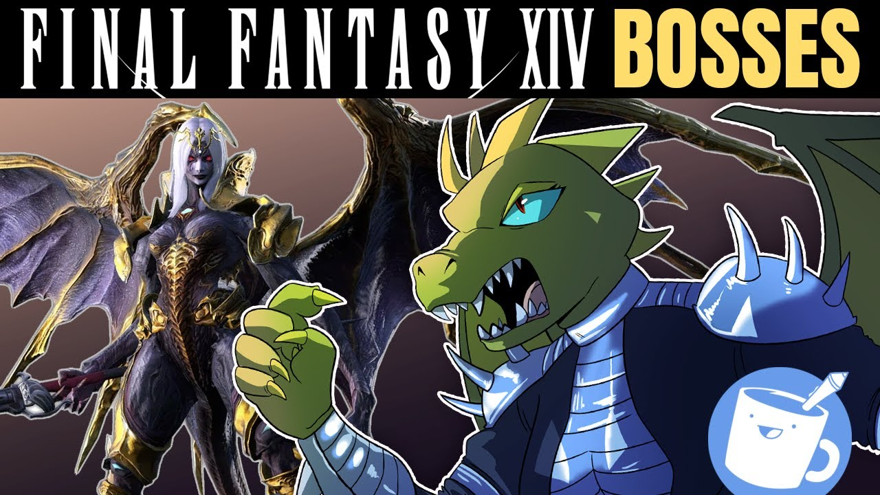 Artists Draw Final Fantasy XIV Bosses (That They've Never Seen)