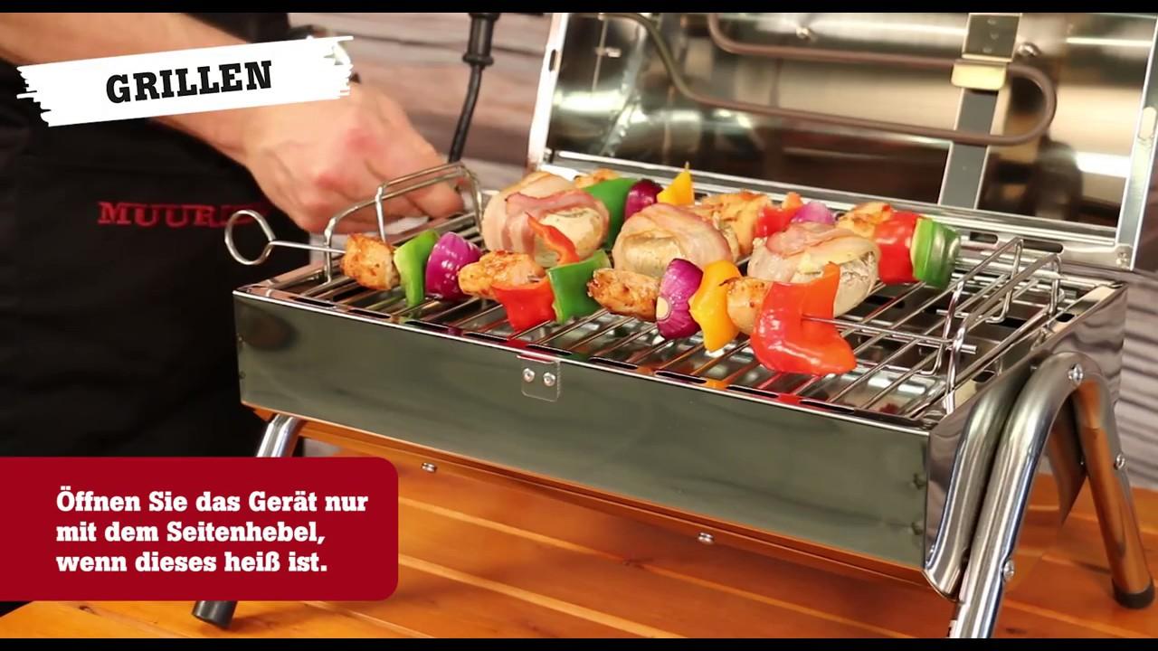 Weber Elektrogrill Räuchern : Muurikka elektrogrill und räucherofen 2in1 900w derofenfuchs