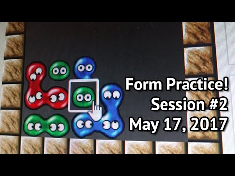 Form Practice with the Puyo community! Session #2 - Mario Kart 8 after